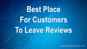 Video about the best place to have your customers leave reviews